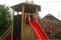Otvírání dětského hřiště v Nučicích