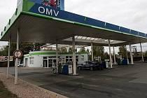 Čerpací stanice OMV v Kolíně
