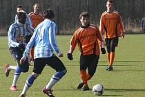 Z přípravného utkání FK Kolín - Čáslav (4:0).