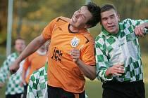 Z utkání FK Kolín B - Býchory (0:4).