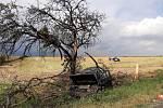 Dopravní nehoda v katastru obce Přistoupim.