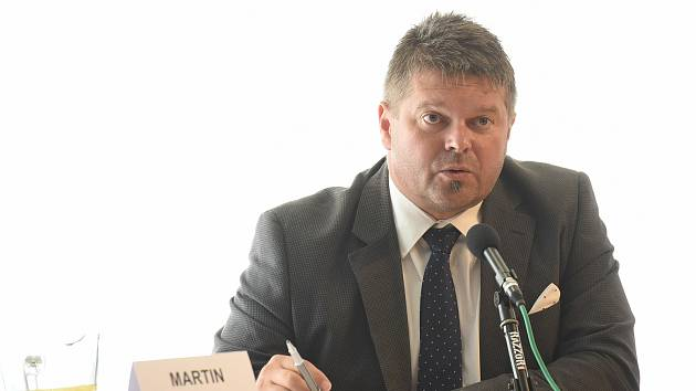 Předseda zastupitelského klubu opozičního hnutí ANO Martin Herman.