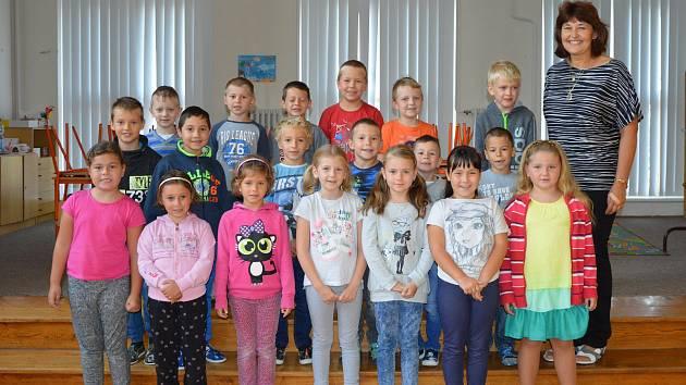 1. A Základní školy Velim, třídní učitelka Iveta Bodláková