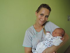 Lukáš a Diana z Peček se dočkali syna. Tobiáš Janeba přišel na svět 23. srpna 2017 s váhou 3345 gramů a výškou 50 centimetrů.