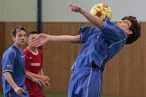 Meziškolní turnaj v sálové kopané