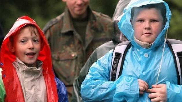I přes některé deštivé dny byl tábor vydařený.