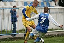 Z divizního fotbalového utkání Český Brod - Rakovník (2:0)
