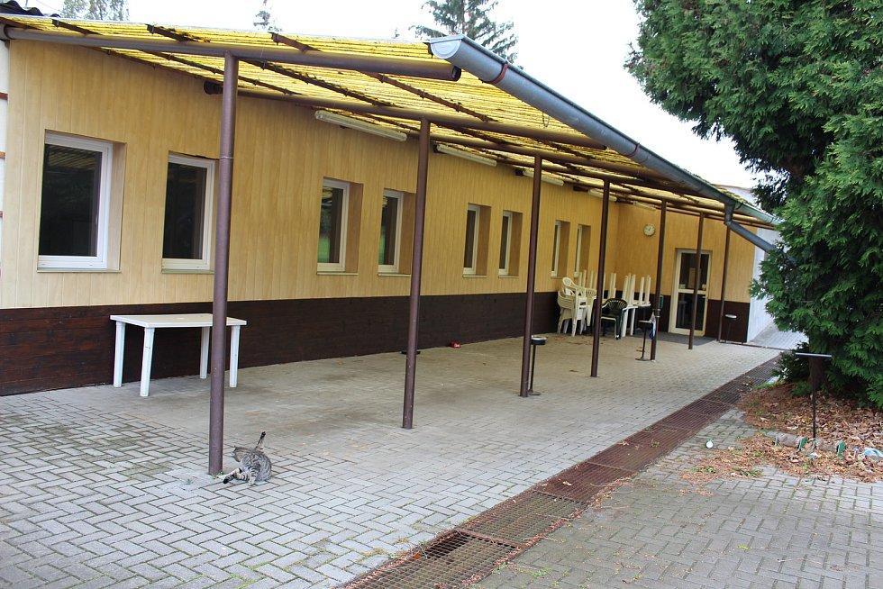 Areál Golfového klubu v Molitorově u Kouřimi, kde došlo k násilné smrti