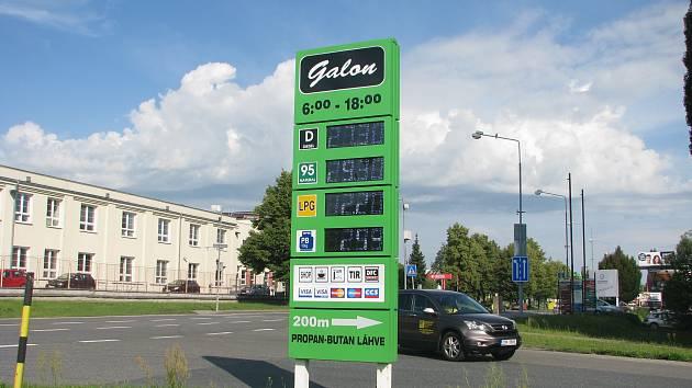 Průzkum cen benzínu v Kolíně a okolí