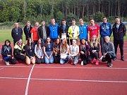 Vítězné týmy Středoškolského poháru.