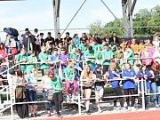 Kolínské sportovní dny ZŠ 2017 - slavnostní zahájení.