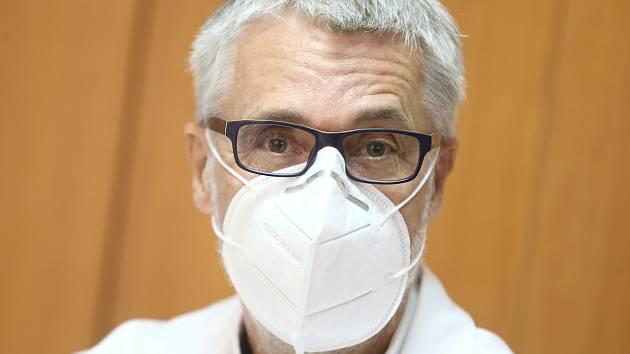 Ředitel Oblastní nemocnice Kolín Petr Chudomel.