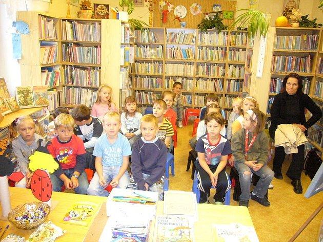 Z cyklu besed pro děti v českobrodské knihovně