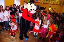 Dětský karneval v Sendražicích.