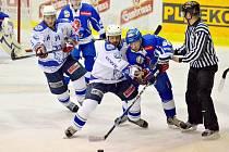 Z utkání semifinále play off Tábor - Kolín 3:0