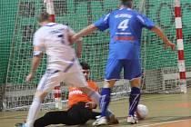 Z utkání SKP Kolín - FC Foboz Slaný (9:5).