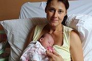 Tereza Hradecká vykoukla na svět 5. září 2017 s výškou 49 centimetrů a váhou 2995 gramů. Ve Veltrubech bude žít s maminkou Šárkou, tatínkem Michalem a jedenáctiletým Jakubem.