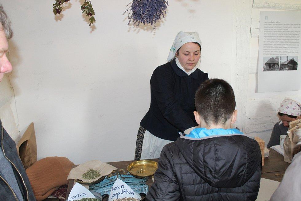 V kouřimském skanzenu chodili návštěvníci s Jidášem.