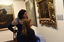 Vernisáž výstavy Barokní umění ze sbírek Regionálního muzea Kolín vČervinkovském domě v Kolíně.