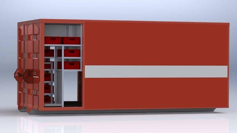 Záchranný lodní kontejner. To je nový pomocník, kterého se v příštím roce dočkají kolínští hasiči.