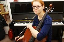 Violoncellistka Bára Kubíčková