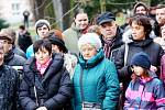 Živý Betlém v parku Komenského