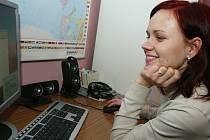 Giorgijova přítelkyně Renata Hrazdílková.