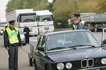 Preventivní dopravní akce v Kolíně.  23. září