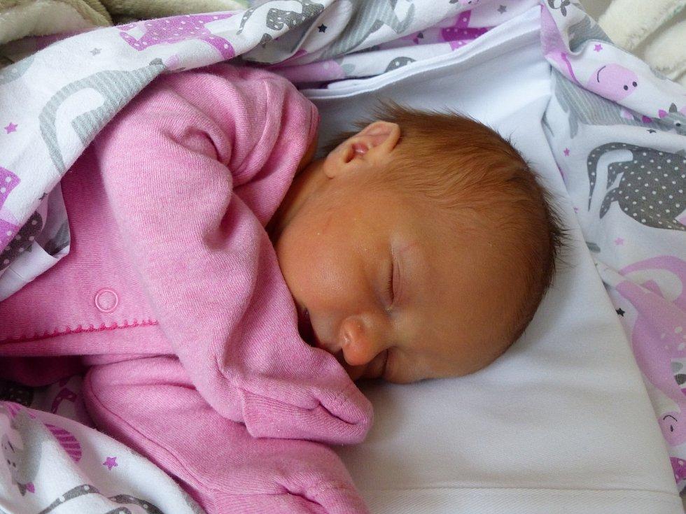 Laura Jelínková se narodila 7. listopadu 2019 v kolínské porodnici, vážila 2945 g. Domů do Němčic odjela s maminkou Lucií a tatínkem Lukášem.