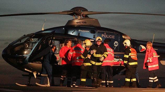 Tragická dopravní nehoda u Jestřabí Lhoty. 27. února 2010