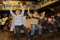 Uhlíř bavil přes tisíc dětí v kolínském kulturáku