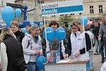 Den záchranářů v Kolíně 2010. Karlovo náměstí
