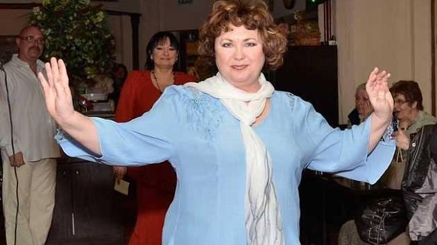 Naďa Konvalinková má moc ráda české písničky, od lidovek až po evergreeny