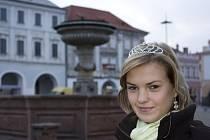 Kolínská vicemiss Monika Fadrhoncová