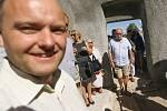 Ze setkání na Mašínově statku v Lošanech ve středu 26. srpna 2020.