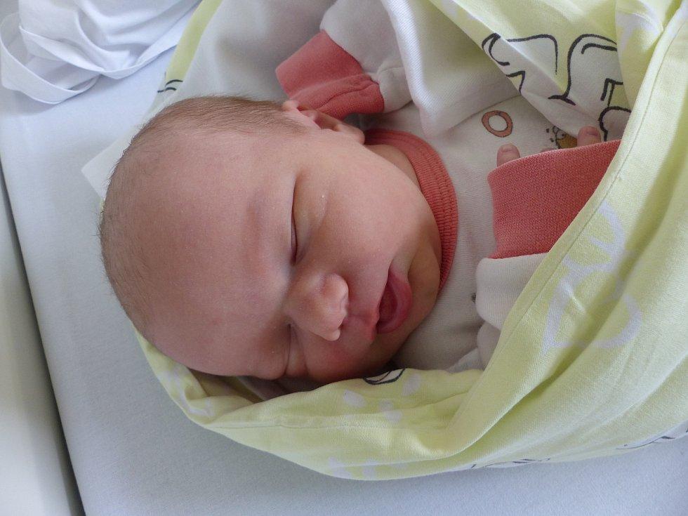 Amálie Salavcová se narodila 29. dubna 2020 v kolínské porodnici, vážila 3570 g a měřila 50 cm. Do Českého Brodu odjela se sestřičkami Karolínou (13), Adélou (6) a rodiči Marcelou a Václavem.