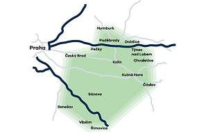 Oblast, které ve středu 12. června hrozil blackout