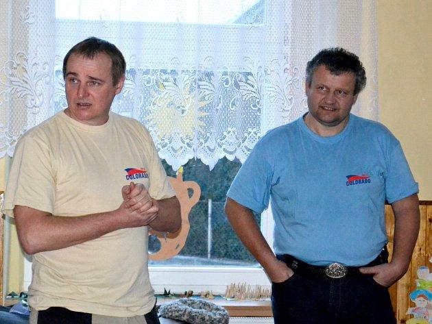 O divoké vodě vyprávěl Václav Polák a Milan Jirka