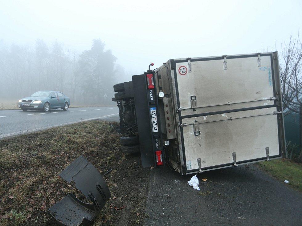 Dopravní nehoda v Hradišťku I.