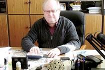 Ředitel kolínské průmyslovky Jaromír Kratochvíl.