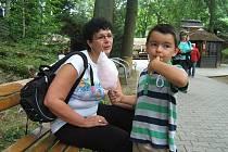 Ratbořské děti v jihlavské ZOO