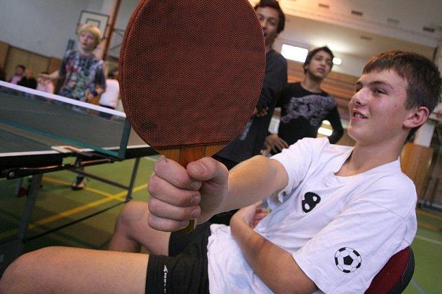 Turnaj v ping pongu na ZŠ Mnichovická