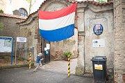 Pořad Holandsko všemi smysly v prostorách bývalé fary v Tuklatech.