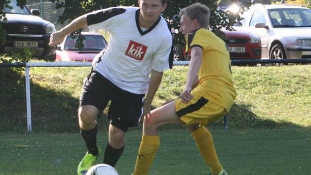 Z utkání Červené Pečky - Tuchoraz (0:2).