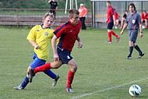Z utkání Radim - Sázava (6:0).