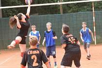 Kolínské sportovní dny ZŠ 2017 - volejbal.
