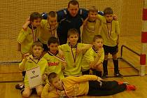 Vítězný tým Kolína.