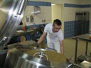 Nová školní kuchyň v Pečkách