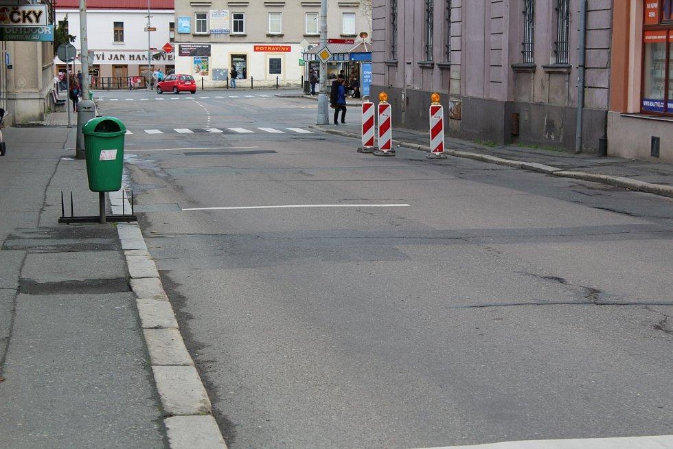 Pražská ulice v Kolíně