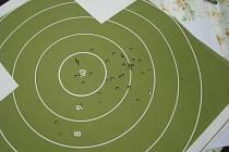 Přebor ve střelbě ze služebních zbraní na střelnici Jelen. 22. července 2009